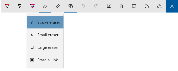 Windows Ink improvements